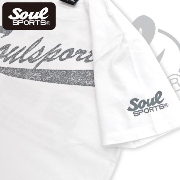 SOUL SPORTSオリジナル フェス風集合ロゴ半袖Tシャツ ブラック/ホワイト|soul-sports|12