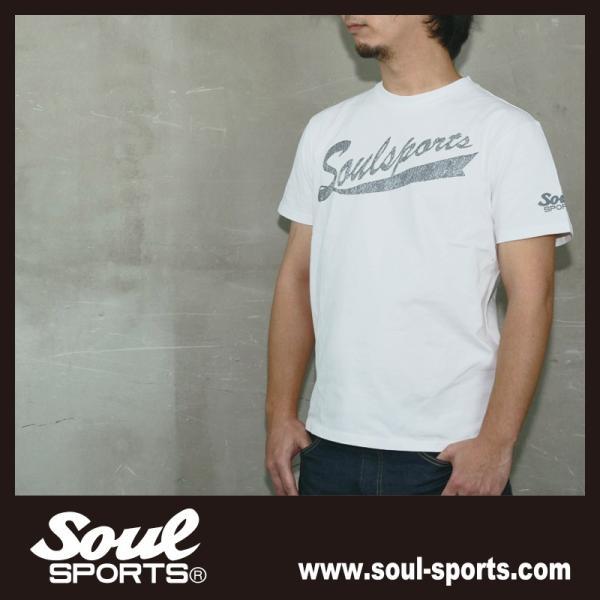 SOUL SPORTSオリジナル フェス風集合ロゴ半袖Tシャツ ブラック/ホワイト|soul-sports|14