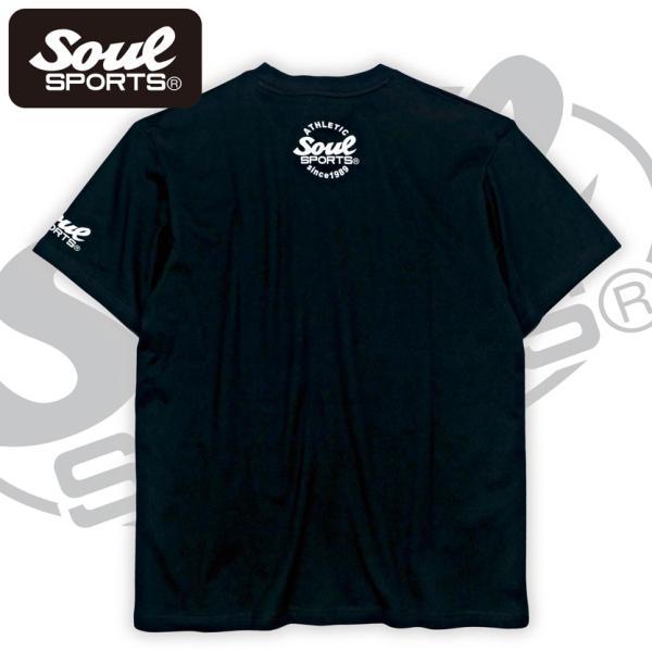 SOUL SPORTSオリジナル ホラー系マラソン半袖Tシャツ ブラック 2018新作 soul-sports 06