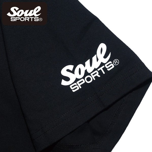 SOUL SPORTSオリジナル ホラー系マラソン半袖Tシャツ ブラック 2018新作 soul-sports 08