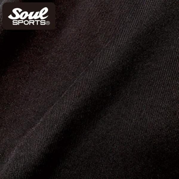 SOUL SPORTSオリジナル 集合ロゴジップパーカ ブラック 2018新作|soul-sports|13