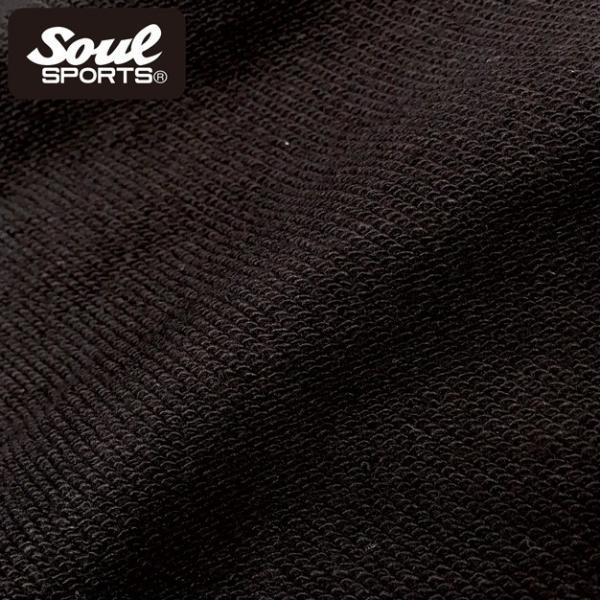 SOUL SPORTSオリジナル 集合ロゴジップパーカ ブラック 2018新作|soul-sports|14