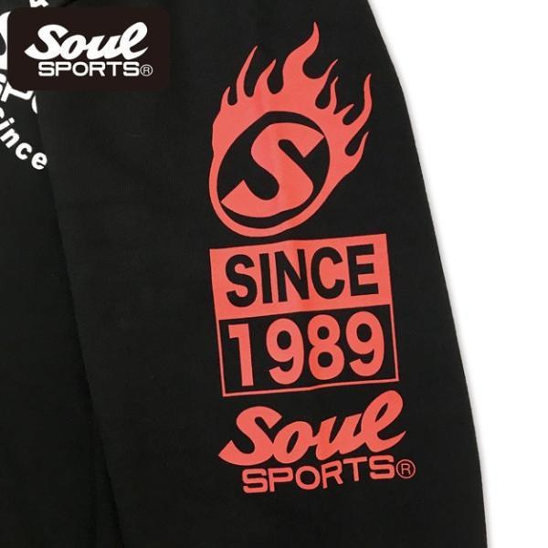 SOUL SPORTSオリジナル 集合ロゴジップパーカ ブラック 2018新作|soul-sports|07