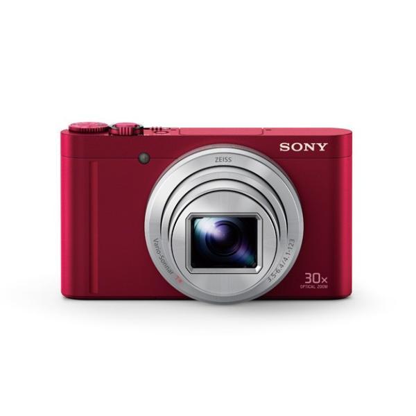 DSC-WX500 レッド デジタルスチルカメラ