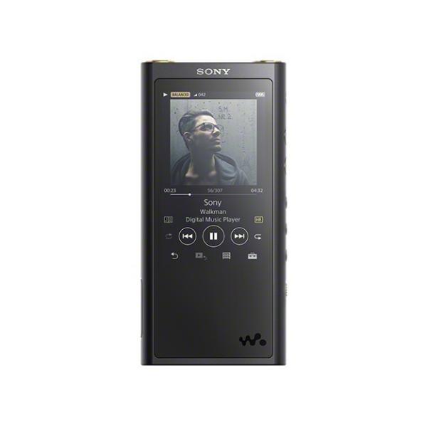 NW-ZX300G ブラック ウォークマンZXシリーズ 128GB