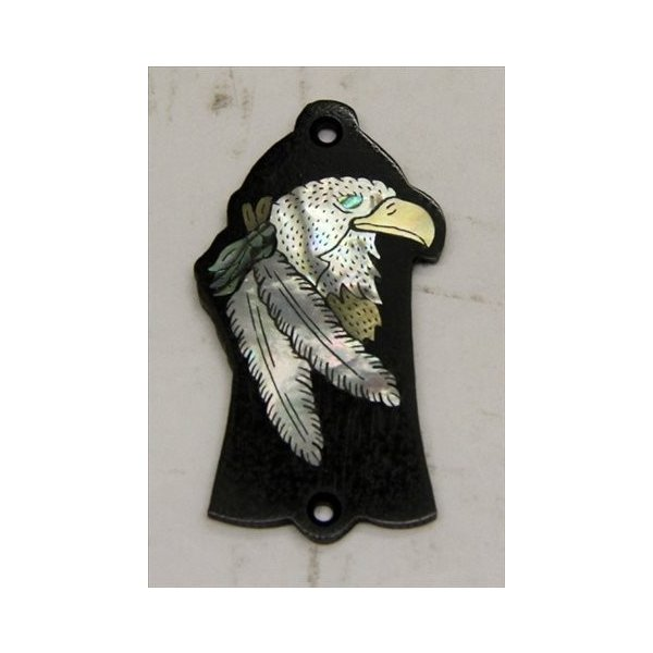 GuitarHeads / Truss Rod Cover with Eagle & Feathers Inlay Gibson 直輸入|soundmama-e