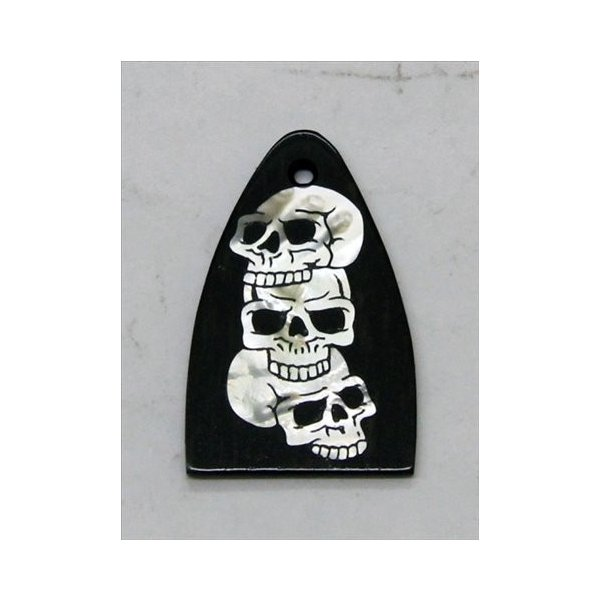 GuitarHeads / Truss Rod Cover with Skull Inlay PRS 直輸入|soundmama-e