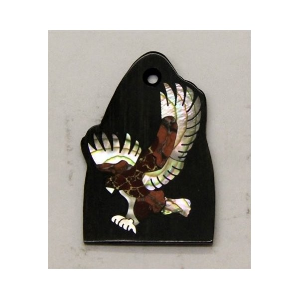 GuitarHeads / Truss Rod Cover with Eagle Inlay Red PRS 直輸入|soundmama-e|01