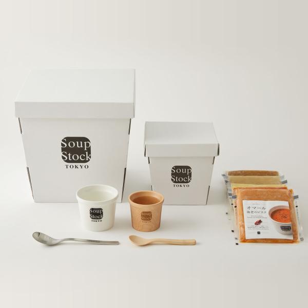 スープストックトーキョー 親子のスプーンとカップとスープのセット|soup-stock-tokyo|02