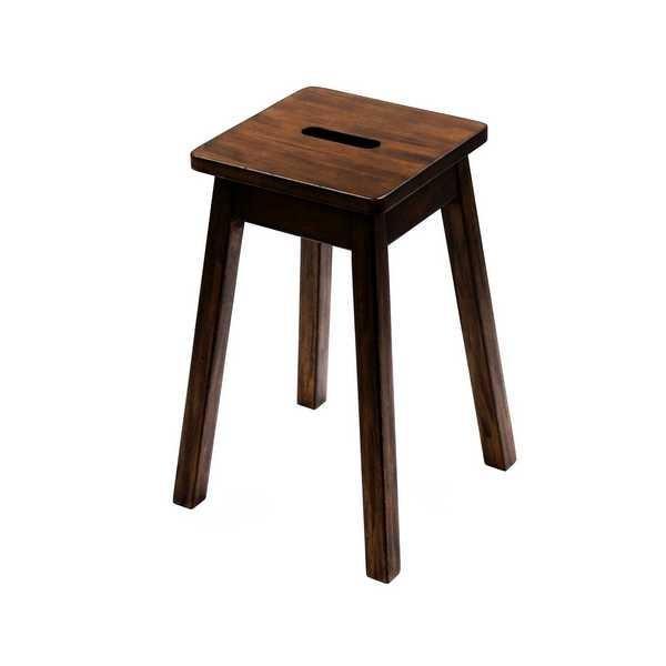 AYS-05 エーワイ スクエアースツール AY 小椅子 小イス 腰掛け 天然木 小さ目 角イス アンティーク アジアン