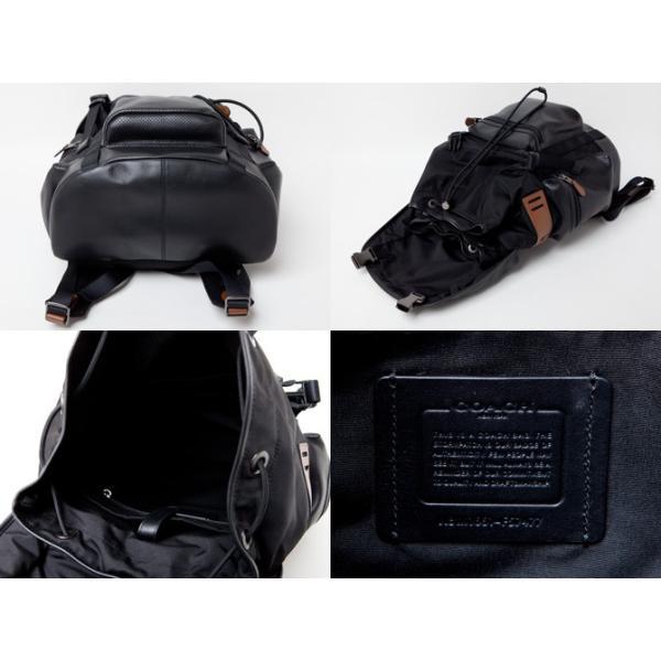 コーチ COACH  メンズ バッグ リュック  トレックパック パーフォレーテッドレザー バックパック f57477