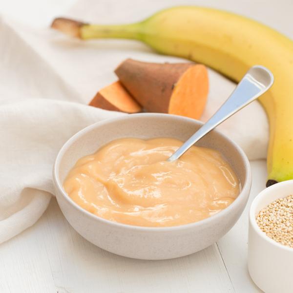 オンリー オーガニック ベビーフード アレルギー 対策(生後4か月頃〜ずっとOK)バナナ、サツマイモとキヌアのお食事120g×6個セット 離乳食|southernbridge|08