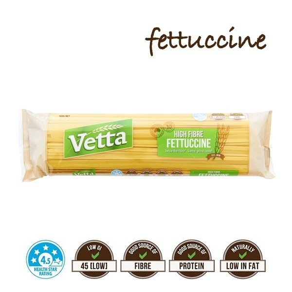 ダイエット パスタ 低糖質 低GI フィットチーネ 糖質の吸収が緩やか 60食分 ベッタハイファイバータイプ500g×12袋セット 全粒粉 southernbridge
