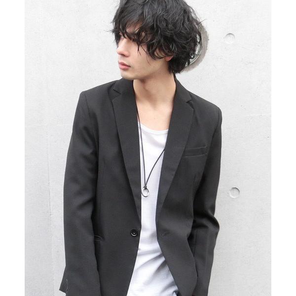 日本製 レザー コード リング ネックレス ネックレス・ペンダント 男女兼用アクセサリー ジュエリー・アクセサリー メンズファッション|soyous|02