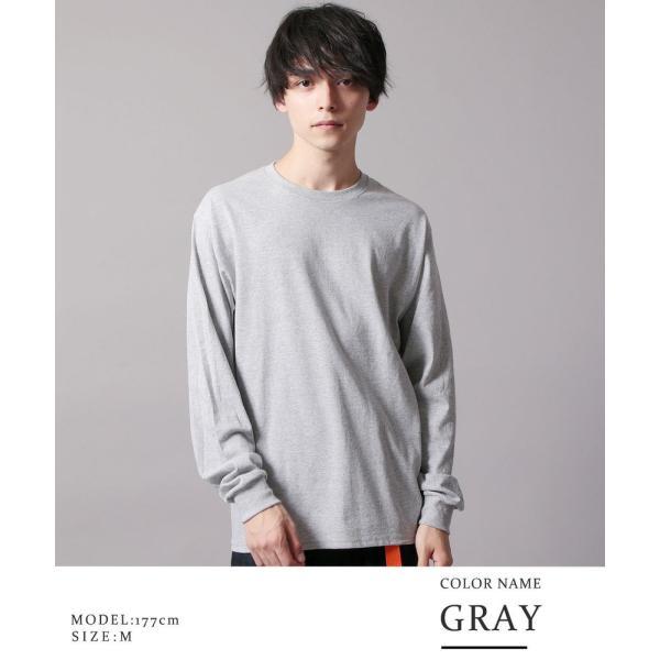 シンプル だから無限に着こなせる Uネック 長袖 7分袖 半袖 カットソー Tシャツ|soyous|06
