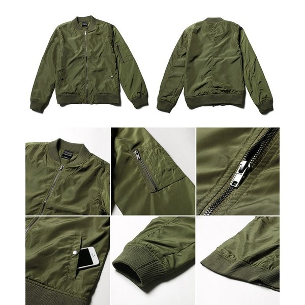 MA-1 メンズ ミリタリー ジャケット フライトジャケット エムエーワン ma1 ミリタリージャケット 送料無料|soyous|06