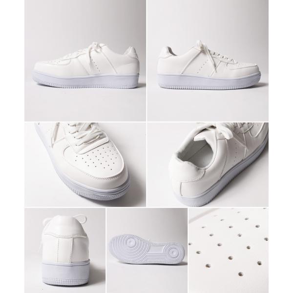 スニーカー メンズ ハイテク 白 黒 ホワイト ブラック ローカット ボリューム シューズ 靴 くつ|soyous|04