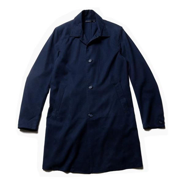メンズ コート 春 メンズファッション 撥水 テンセル ストレッチ ステンカラー|soyous|04