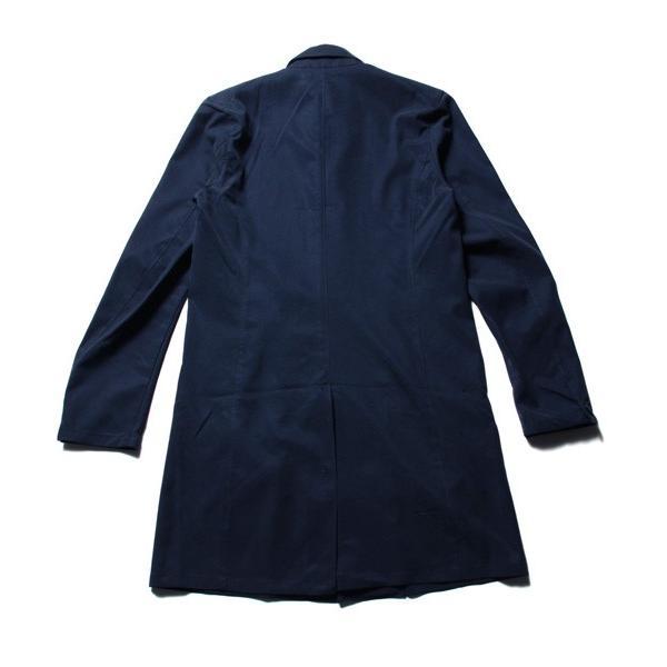 メンズ コート 春 メンズファッション 撥水 テンセル ストレッチ ステンカラー|soyous|05