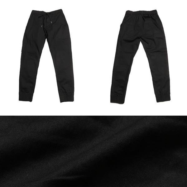 ブロークンツイル テーパード ジョガーパンツ メンズ|soyous|05