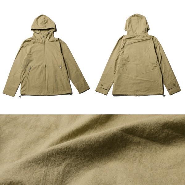 高密度 ツイル ジップアップ フード ブルゾン ジャケット メンズ|soyous|05
