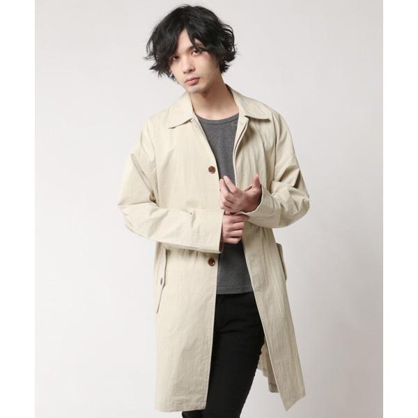 オーバーサイズ ステンカラー コート メンズ soyous 02
