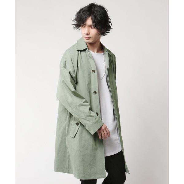 オーバーサイズ ステンカラー コート メンズ soyous 03