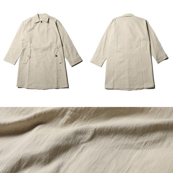 オーバーサイズ ステンカラー コート メンズ soyous 05