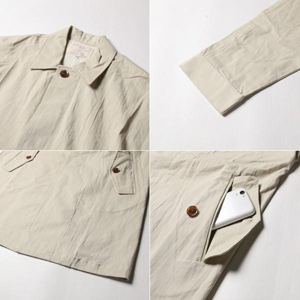 オーバーサイズ ステンカラー コート メンズ soyous 06