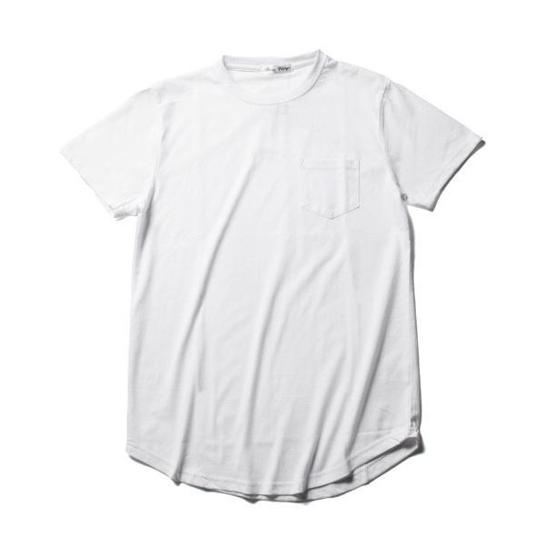 ポケット 付き 無地 ビッグサイズ 半袖 Tシャツ メンズ|soyous|04
