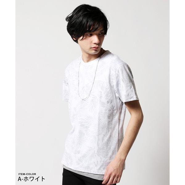 Buyer's Select 総柄裏プリントビッグサイズ半袖Tシャツ|soyous|02