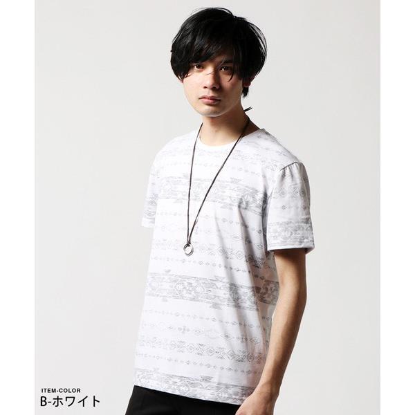 Buyer's Select 総柄裏プリントビッグサイズ半袖Tシャツ|soyous|03