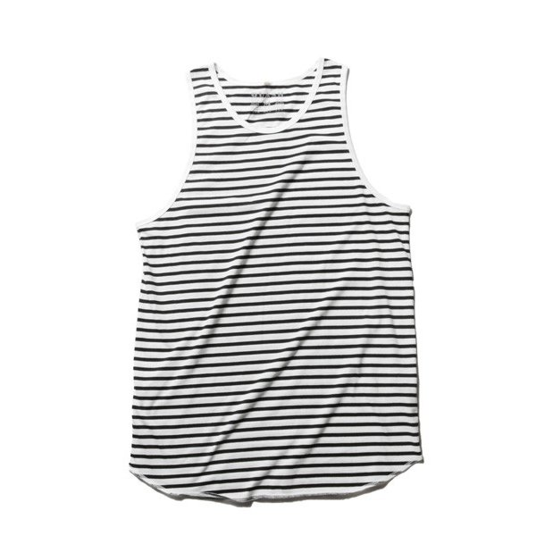 綿麻 パナマ キーネック 半袖 Tシャツ タンクトップ アンサンブル メンズ|soyous|06