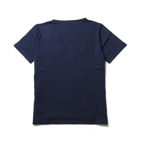 ニット 切り替え ボートネック 半袖 Tシャツ メンズ|soyous|06