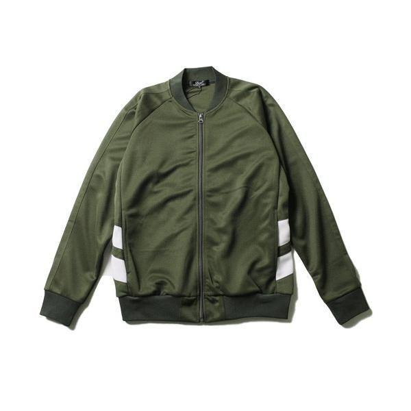 ポリジャージ トラック スーツ ジャケット メンズ|soyous|05