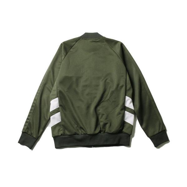 ポリジャージ トラック スーツ ジャケット メンズ|soyous|06