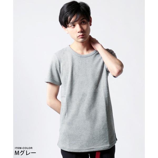 鬼 鹿の子 ゆる クルーネック 半袖 Tシャツ メンズ|soyous|04