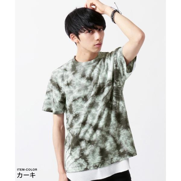 タイダイ 半袖 Tシャツ メンズ|soyous|03