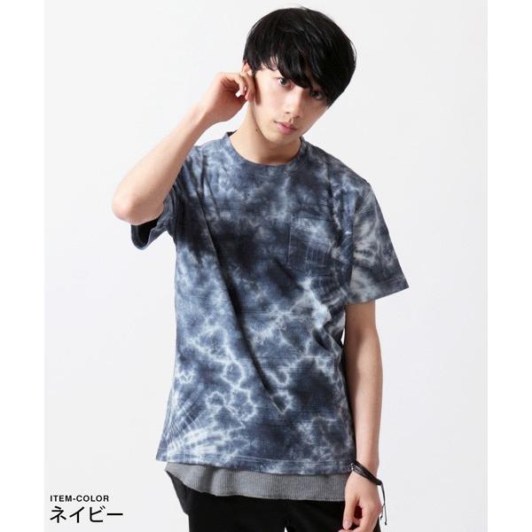 タイダイ 半袖 Tシャツ メンズ|soyous|04
