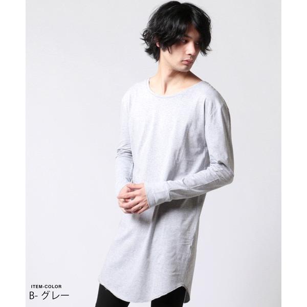 ロング レングス 長袖 カットソー メンズ|soyous|06
