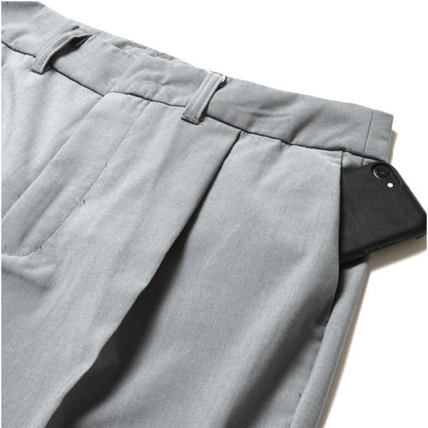 ストレッチ TR ワイド パンツ メンズ|soyous|06