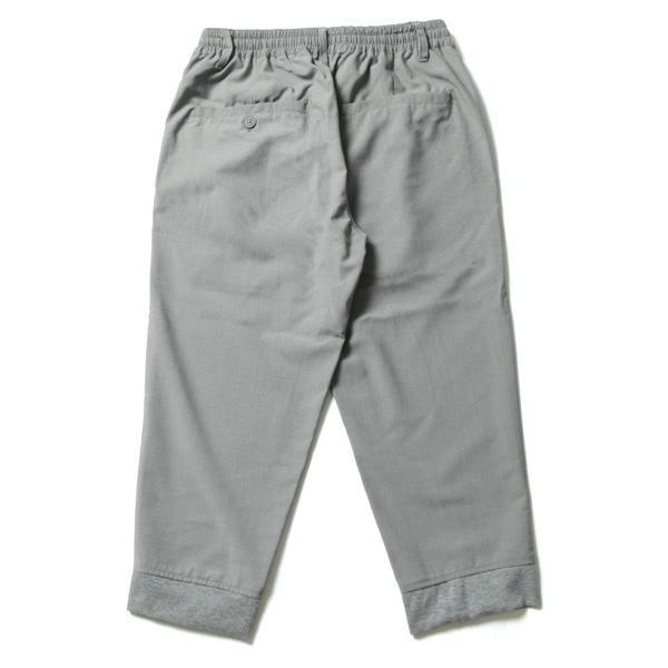 TR 裾 リブ クロップド パンツ メンズ|soyous|06