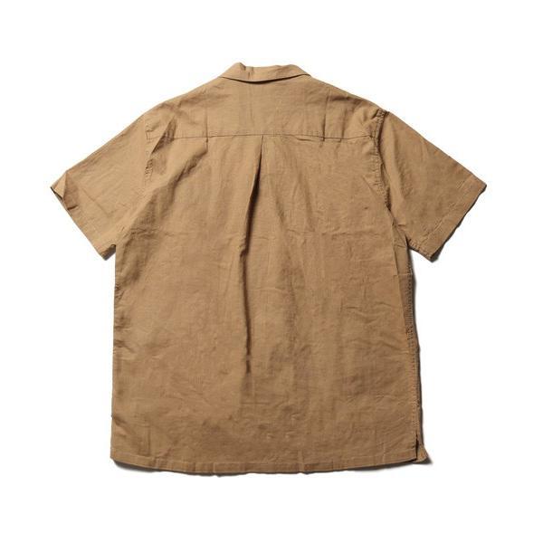 綿麻 ピンタック 半袖 キューバシャツ メンズ|soyous|06