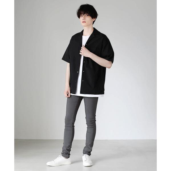 スキニー メンズ スーパー ストレッチ スキニーパンツ 黒 ロングパンツ パンツ ブラック ストレッチパンツ ボトムス soyous 11