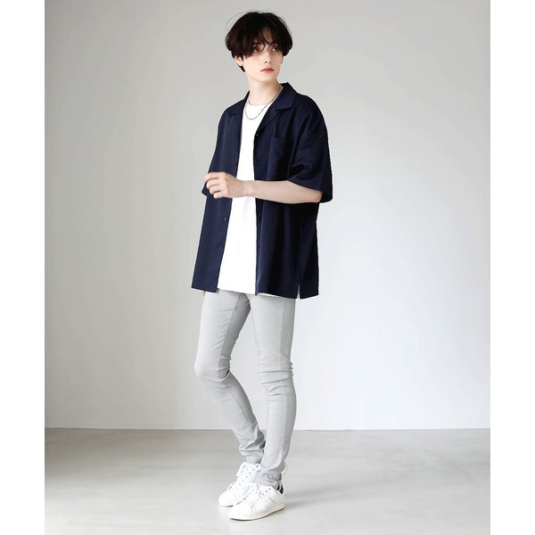スキニー メンズ スーパー ストレッチ スキニーパンツ 黒 ロングパンツ パンツ ブラック ストレッチパンツ ボトムス soyous 13