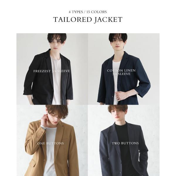 テーラードジャケット メンズ ジャケット ブレザー テーラード メンズ 長袖 春 夏 メンズ 送料無料|soyous|02