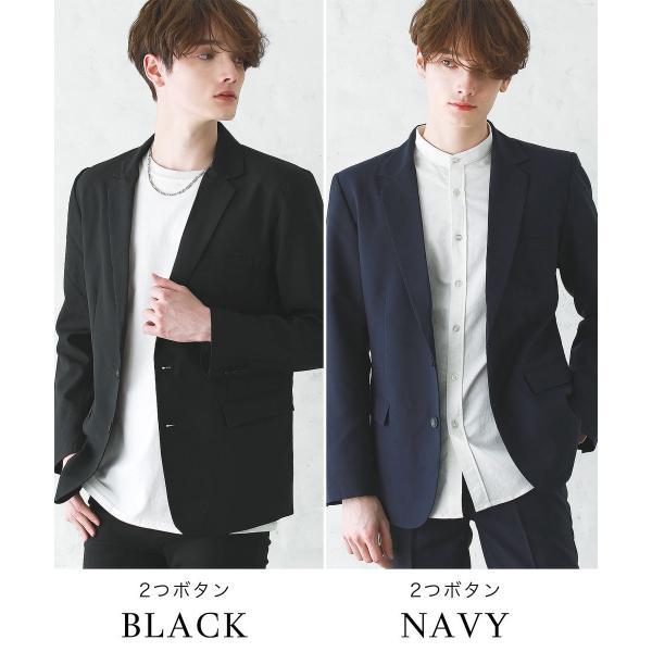 テーラードジャケット メンズ ジャケット ブレザー テーラード メンズ 長袖 秋 冬 メンズ 送料無料|soyous|11