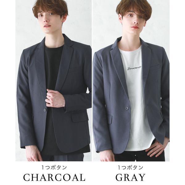 テーラードジャケット メンズ ジャケット ブレザー テーラード メンズ 長袖 春 夏 メンズ 送料無料|soyous|15