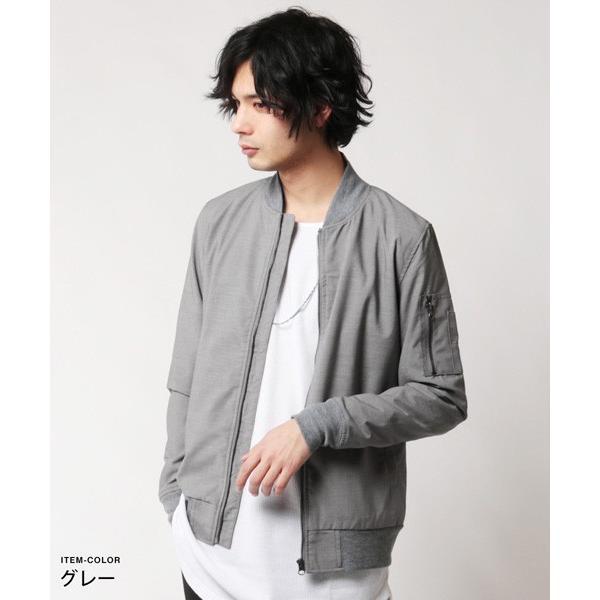 MA-1 メンズ ジャケット ストレッチ TR ma-1|soyous|03