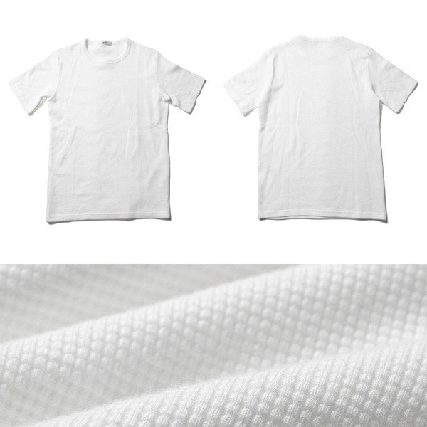 シャツ メンズ カットソー メンズ アンサンブル 2枚組 ヘリンボーン ツイル ミリタリー 春 夏 秋 冬|soyous|06
